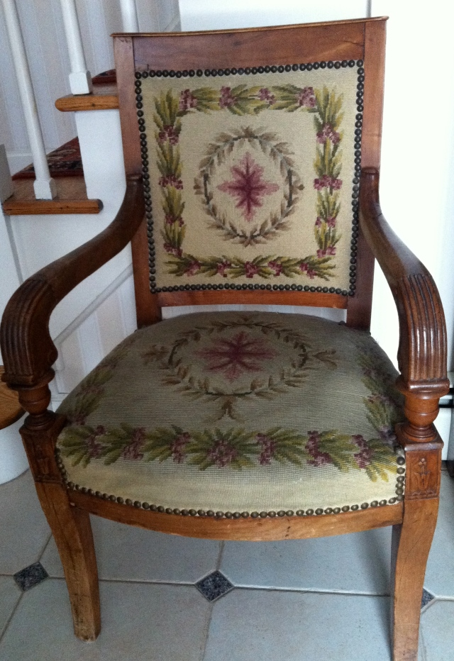 French family chair