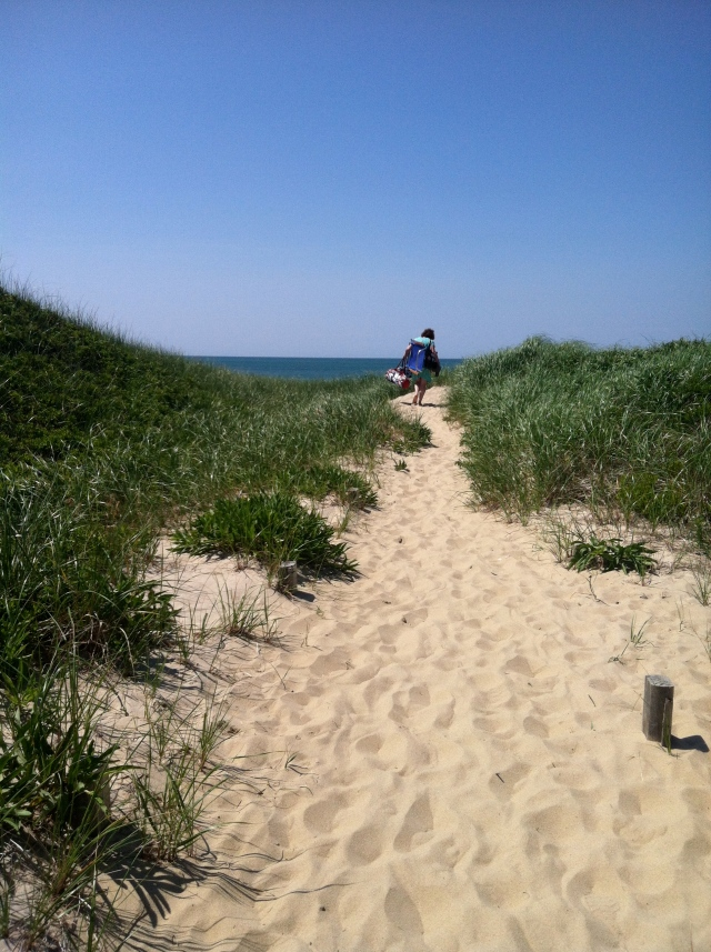Path to Dionis Beach, Nantucket